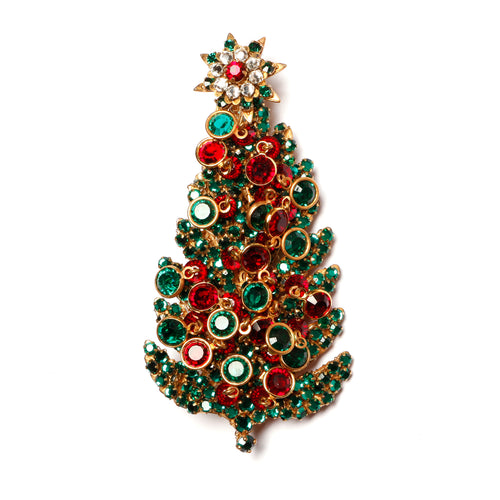Miriam Haskell Christmas Tree