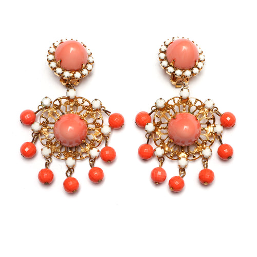 KJL Coral Earrings