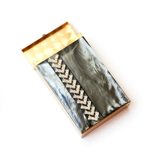 1960s Smoke Moonglow Cigarette Case