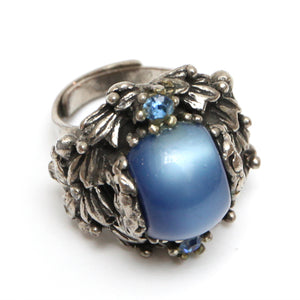 Selro Blue and Silver Ring