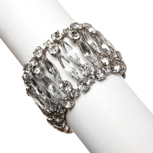 Sherman Clear Crystal Bracelet