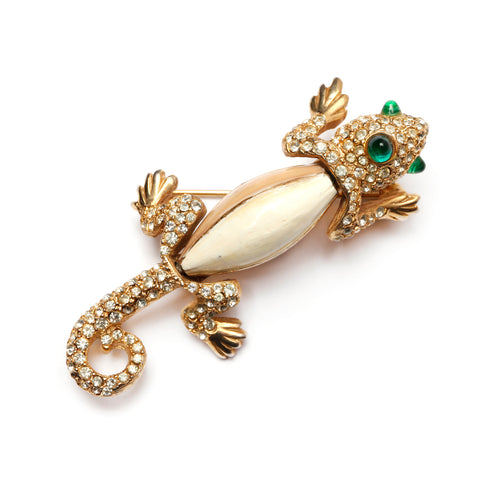 KJL Lizard Brooch