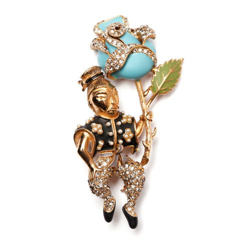 Ciner Figural Brooch