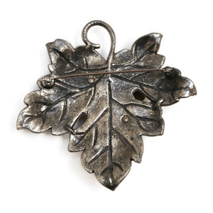 1980s Silver Bug Brooch