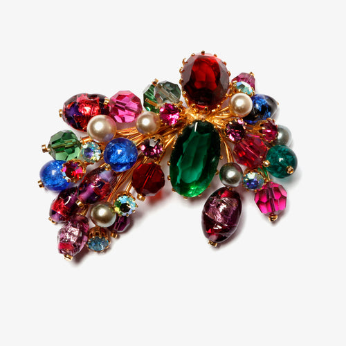 Kramer Multi Colour Spray Brooch