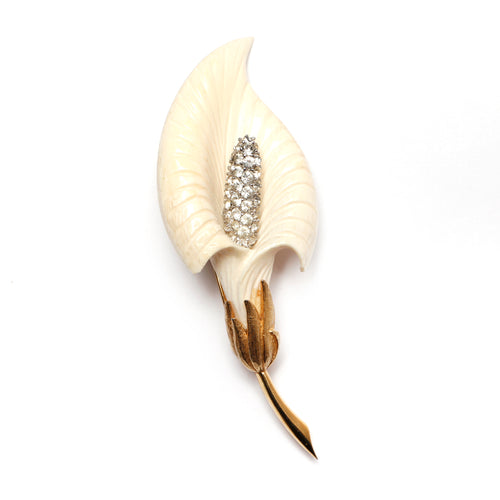 Boucher Lilly Of The Valley Brooch