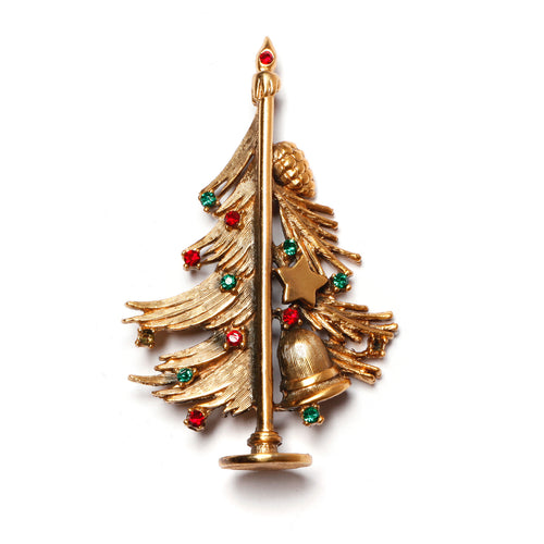 Tortolani Gold Christmas Tree