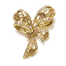 Load image into Gallery viewer, Oscar de la Rente Bow Brooch