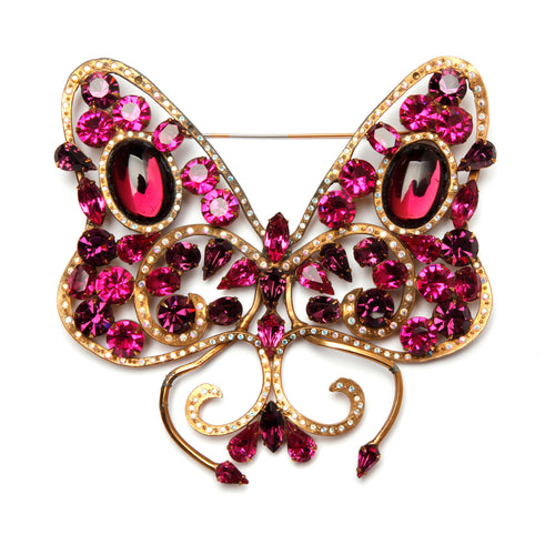John L Catalono Butterfly Brooch