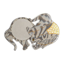 Load image into Gallery viewer, 1950s Grey Elephant Swivel Mirror