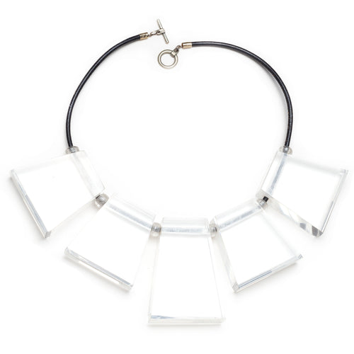 Chunky Lucite Statement Necklace