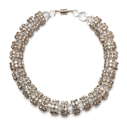 French Crystal Necklace