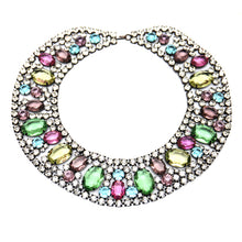 Load image into Gallery viewer, KJL Multi-Colored Bib Necklace