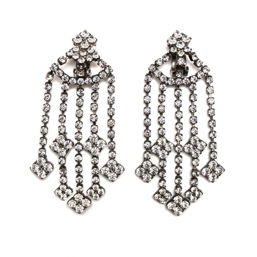 Chandelier Diamante Earrings