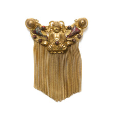 Load image into Gallery viewer, 1950s Buddha Fringe Pin