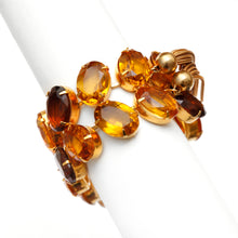 Load image into Gallery viewer, Kramer Amber Stone and Tassel Bracelet