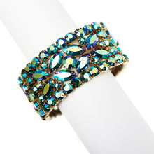 Load image into Gallery viewer, Sherman Blue Aurora Borealis Bracelet