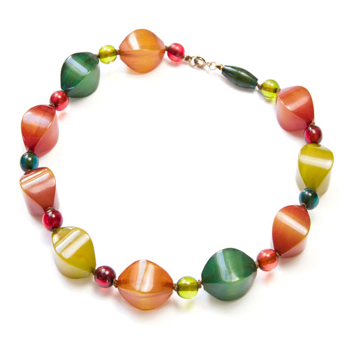 1940 Multi Coloured Bakelite Necklace