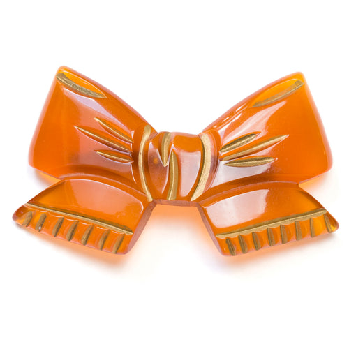 1950 Applejuice Bow Brooch