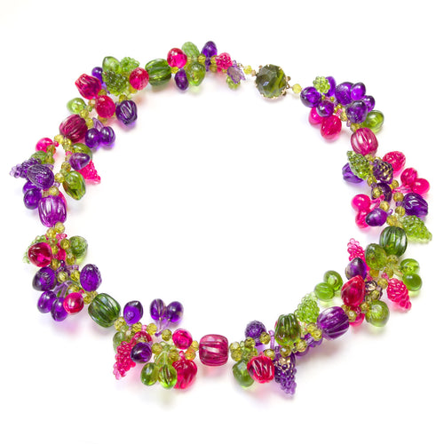 1950's West German Fruit Necklace