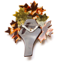 Load image into Gallery viewer, 1960's Lea Stein Maple Tree Brooch