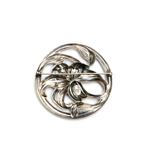 Load image into Gallery viewer, Danecraft Sterling Silver Flower Brooch