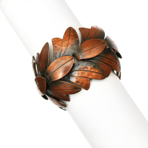 Rebajes Copper Leaf Bracelet