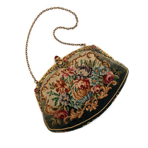 1920 Needlepoint Purse