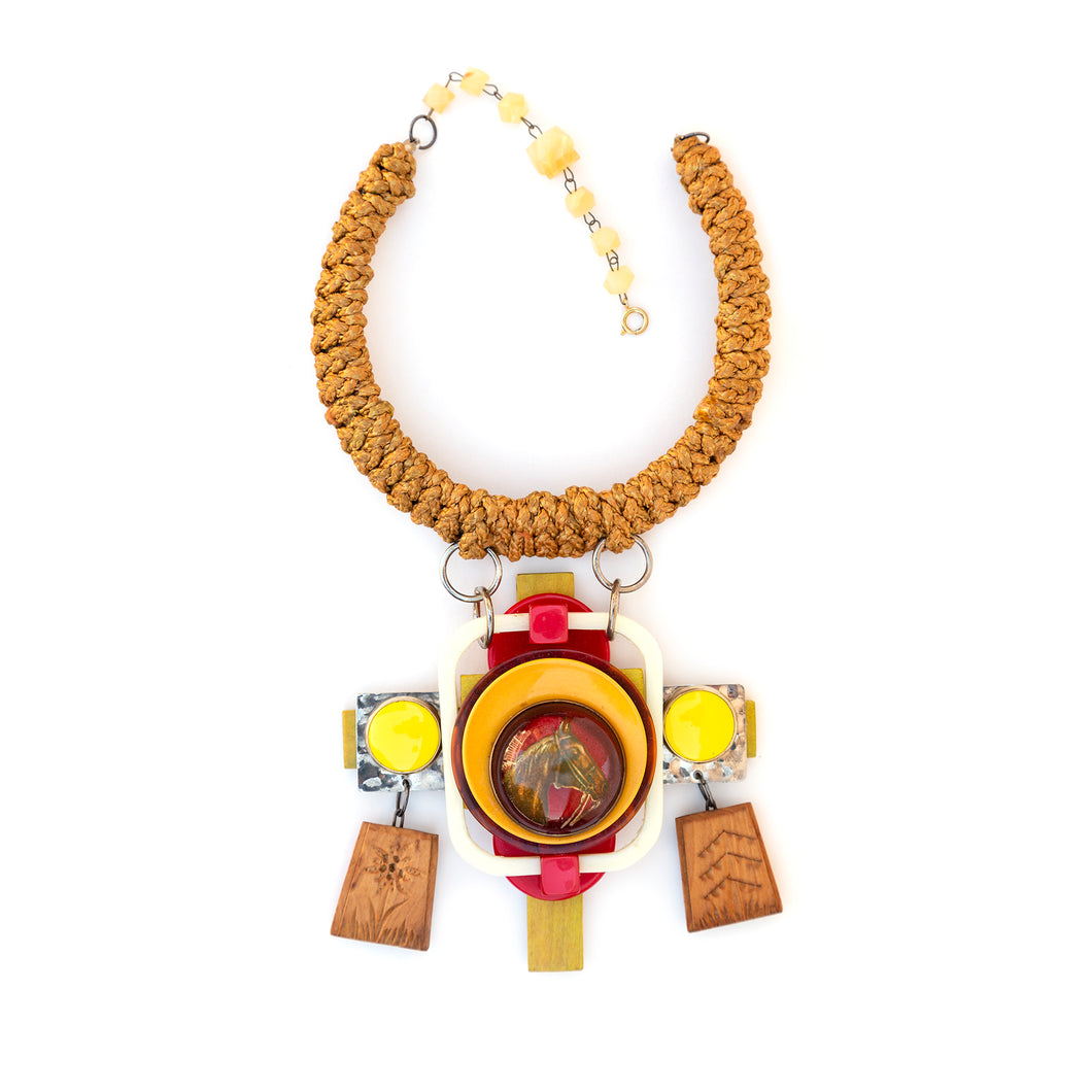 Anastasia McNeal Horse Motif Necklace
