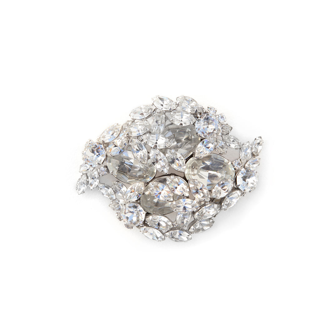 1950's Sherman Diamanté Brooch
