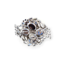 Load image into Gallery viewer, 1950's Sherman Diamanté Brooch