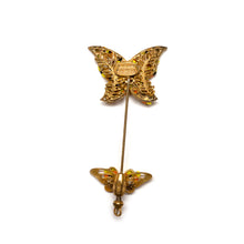 Load image into Gallery viewer, Miriam Haskell Butterfly Pin