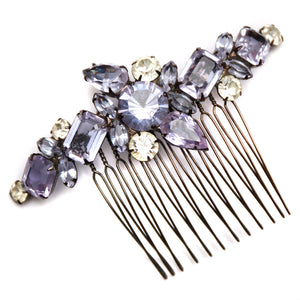 Robert Sorell Purple Hair Comb