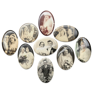 1940s Small Photographic Mirrors