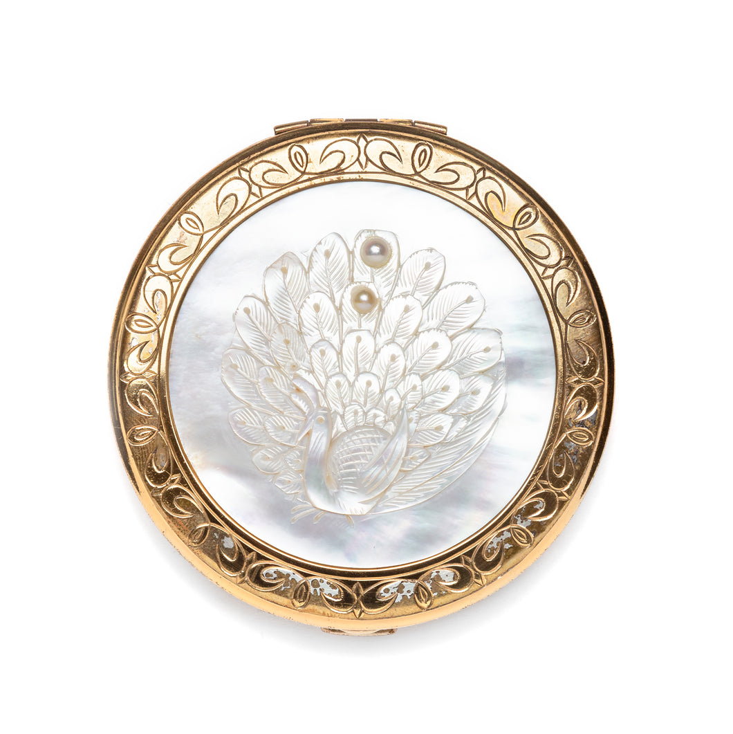 1950s New Light Mother of Pearl Compact