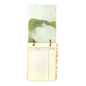1940s Green Celluloid Address Book