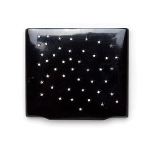 1950s Black Cigarette Holder with Stars