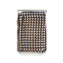 Load image into Gallery viewer, 1940s Silver Mesh and Yellow Guilloche Cigarette Holder
