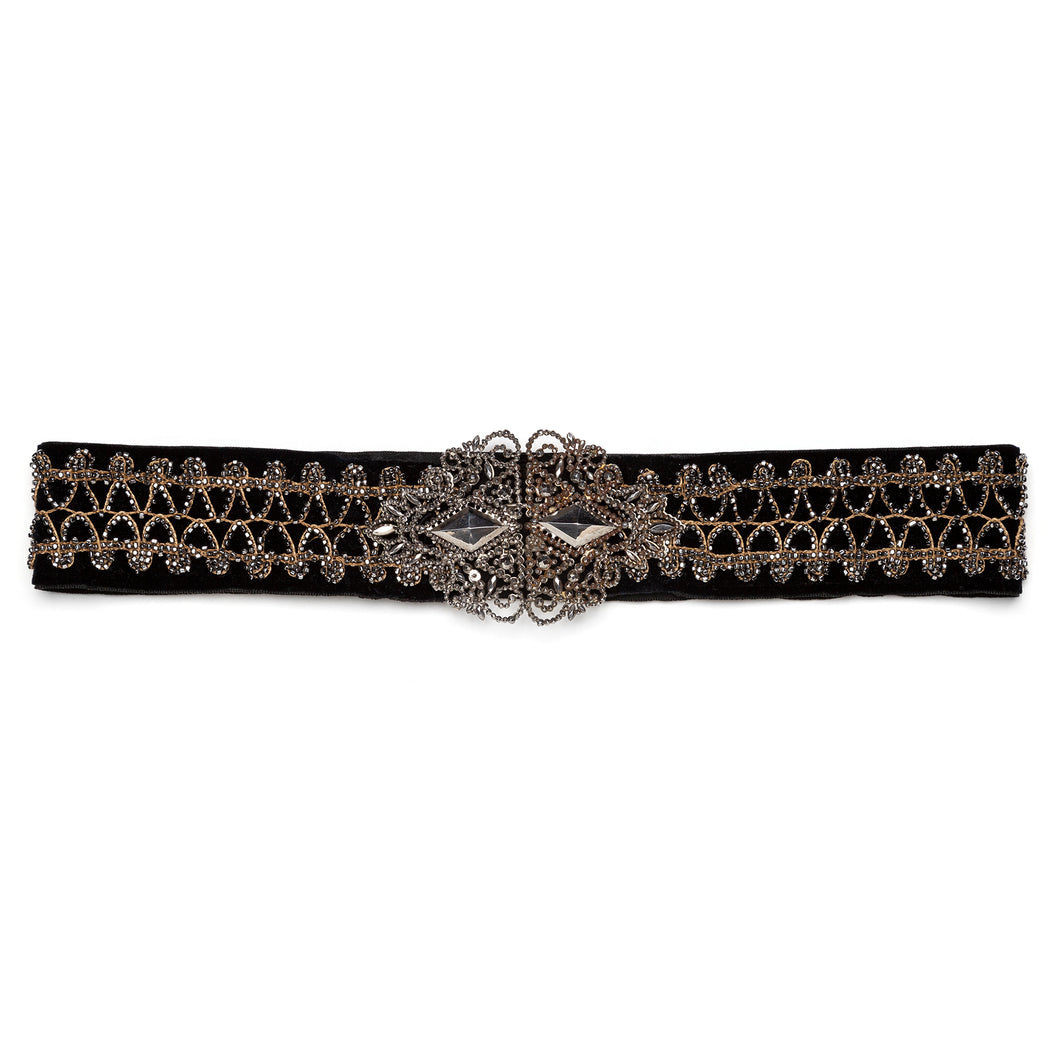 Victorian Berlin Steel Buckle and Sash