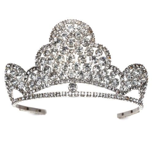 1960s Regal Crystal Tiered Tiara