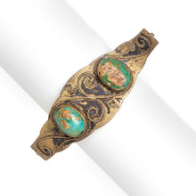 Load image into Gallery viewer, 1920s Egyptian Revival Clasp Bracelet