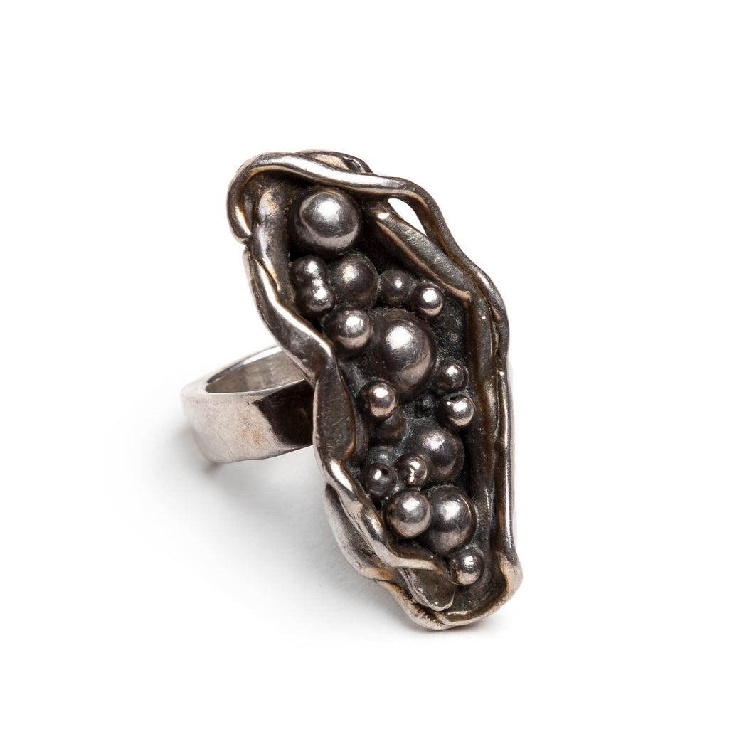 Sterling Artisanal Studio Piece Ring