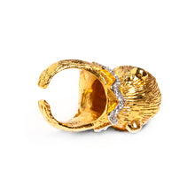 Load image into Gallery viewer, 1960s Gold Monkey Ring