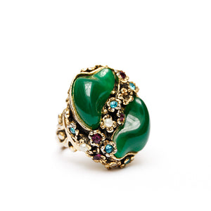 1950s Selro Green Ring