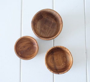 Azalea Timber Serving Bowl Sets