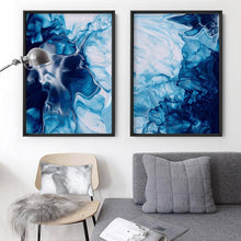 Load image into Gallery viewer, Abstract Fluid Ocean Breathing I - Art Print