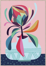 Load image into Gallery viewer, Rachel Lee - Rainbow Protea Framed Print