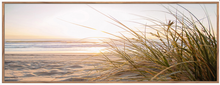 Load image into Gallery viewer, Beach Seagrass Timber Framed Print