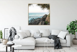 Coastal Foreshore II Canvas