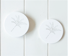 Load image into Gallery viewer, Banana Palm Ceramic Coaster Set